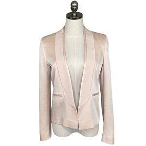 Cedric Charlier Satin Blazer Suit Jacket